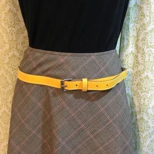 Vintage yellow belt